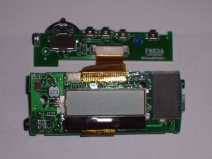 Dismantled Mp3 Player