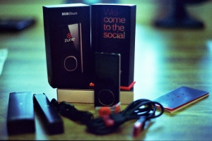 Zune with Packaging