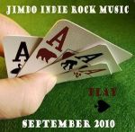 Jimdo's Indie Rock Music September 2010 cover art