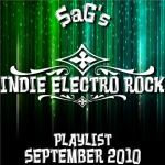 SAG's Indie Electro Rock Playlist September 2010 cover art.